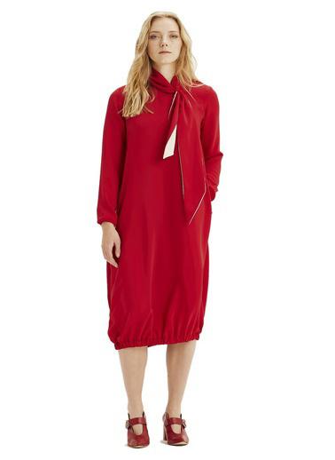 Mizalle Elbise Kırmızı